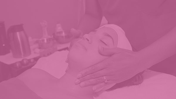 Woman Facial Massage and Skin Care